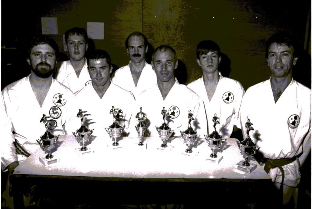 Nostalgic Karate Photographs