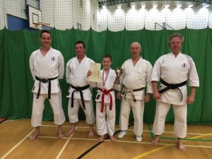 Dartmouth Karate Club. Student of the Month | Harvey Schween